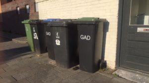 Afvalbakken in Hilversum Oost